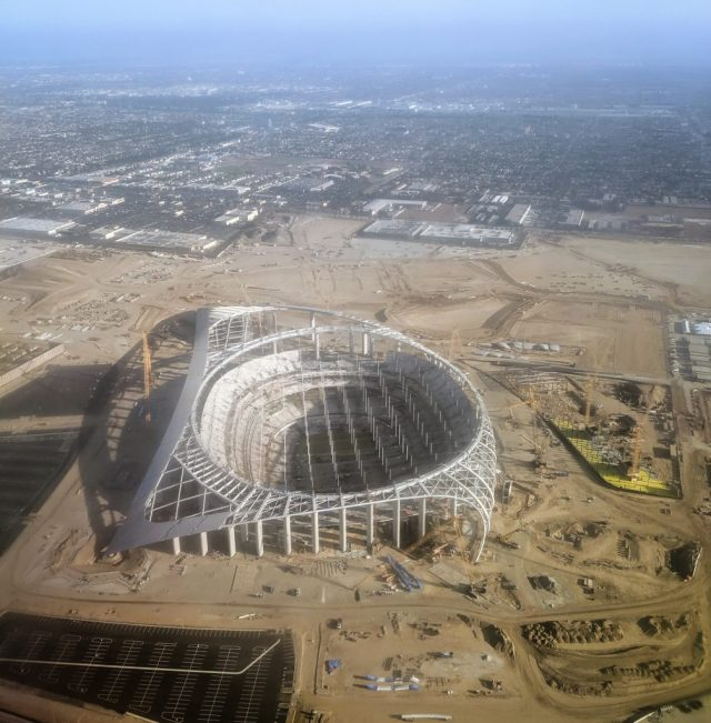 Los Angeles Stadium at Hollywood Park desert