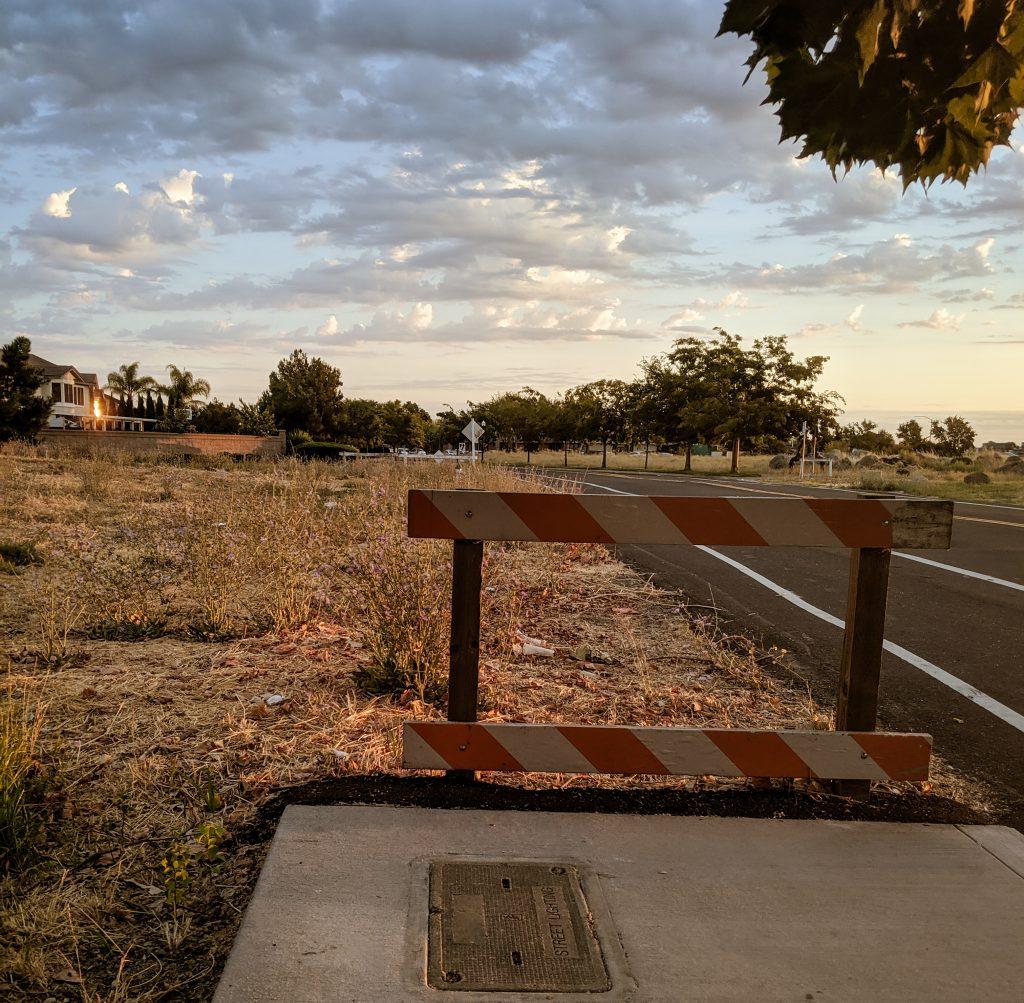 sacramento sidewalk road trip