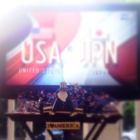 4-1 USA 🇺🇸⚽️❤️ ... and it's only halftime!! #USWNT #OneMore Half to 🌎🏆 via Instagram http://ift.tt/1NKc9AO