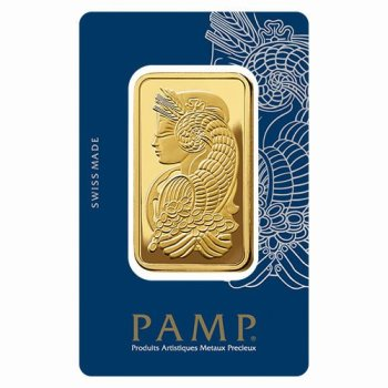 Gold bar 100g PAMP