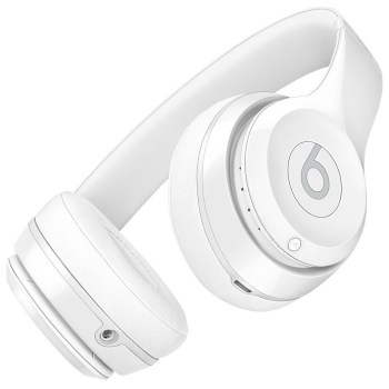 Beats Solo3 Wireless headphones (shiny white)