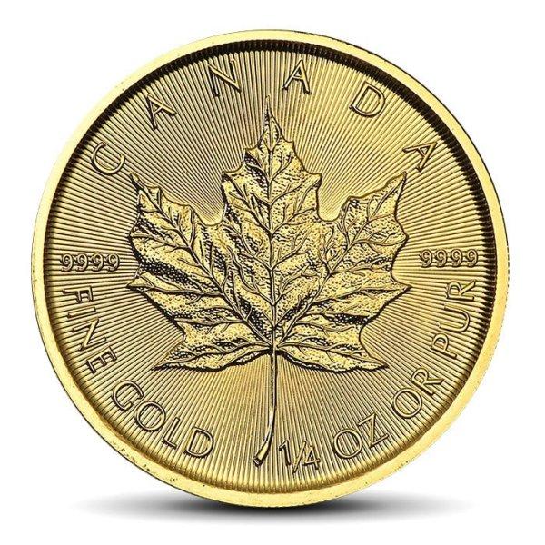 Canadian Maple Leaf 1/4 OZ gold 10CAD coin