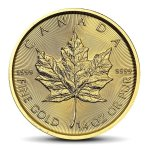 Canadian Maple Leaf 1/4 OZ GOLD