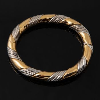 Phenomenal two kinds of gold bracelet Pudicitia