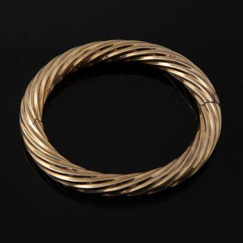 Fancy gold twist bracelet Concordia