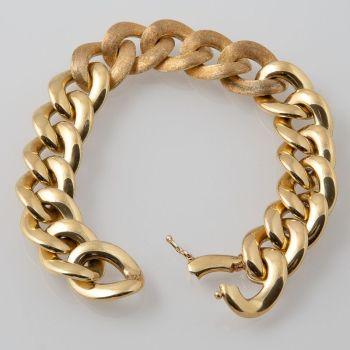Extraordinary gold chain bracelet Aurora