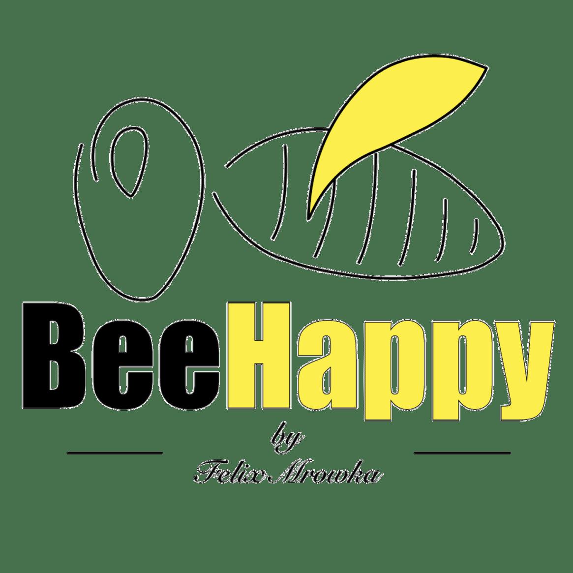 BeeHappy by Felix - Logo schwarz freigestellt