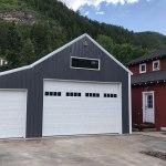 Pole Barn Garage - Beehive Buildings - 20'x36'x11'