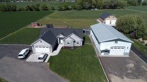 Pole Barn Home & Workshop - Beehive Buildings - 36'x72'x17'