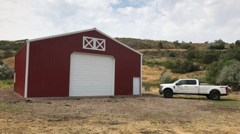 Pole Barn Garage - Beehive Buildings - 40'x40'x16'
