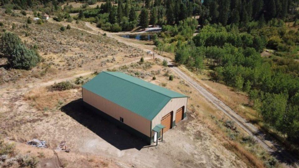 Pole Barn Storage Building - Beehive Buildings - 36'x60'14'