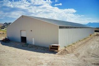 Ellen's Pole Barn Horse Riding Arena - Beehive Buildings - 90x200x16