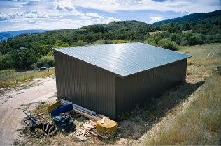 Adam's Pole Barn Garage - Beehive Buildings - 25x50x16