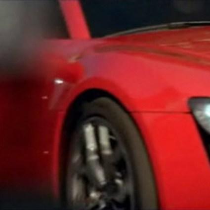 Une Audi R8 dans Maranello !