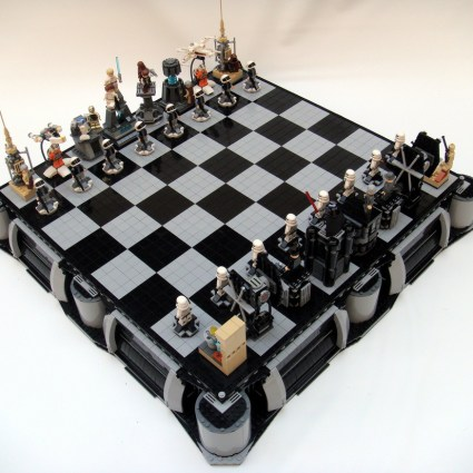 Star Wars chess in LEGO