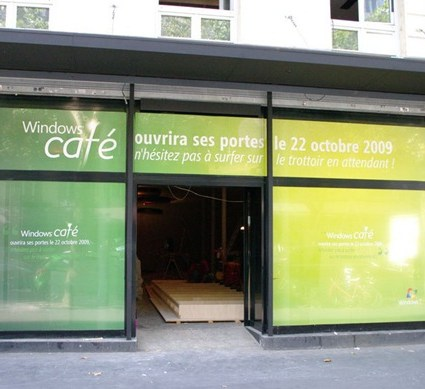 Un Windows café exclusivement dans Paris