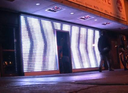 La vitrine interactive de Montréal