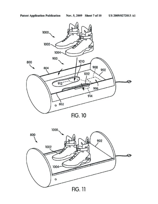 Les Nike de Marty McFly