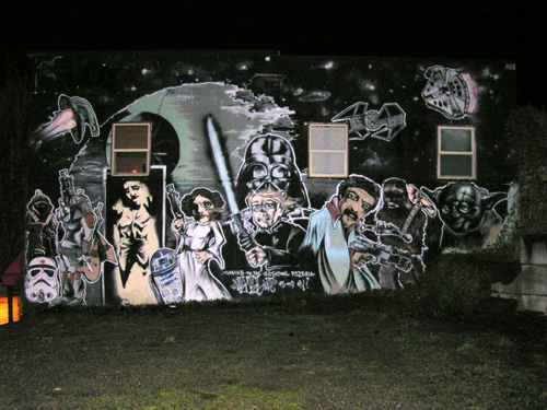 Star Wars Graffiti