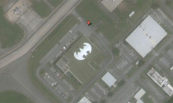 Batman sur GoogleMaps au Japon