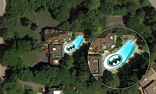 Batman sur GoogleMaps aux Etats-Unis