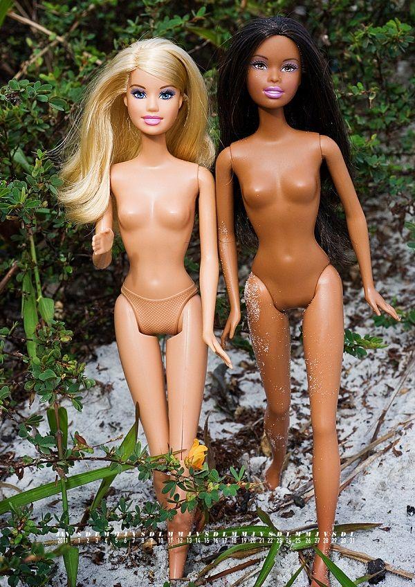 Calendrier Barbie nues