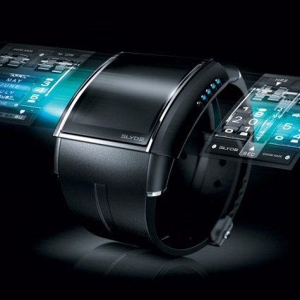 Montre HD3 Slyde : Une montre digitale avec faces interchangeables