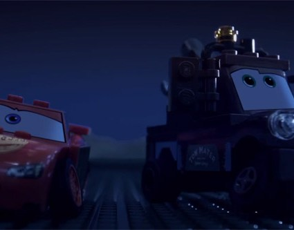 Cars 2, la bande-annonce en LEGO