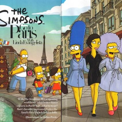 Les Simpson vont à Paris
