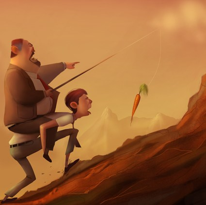 Personnages de cartoon de Max Kostenko