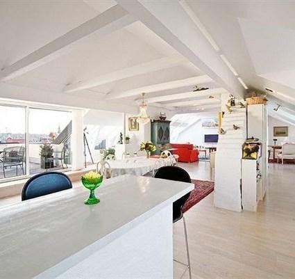 Magnifique loft à Stockholm