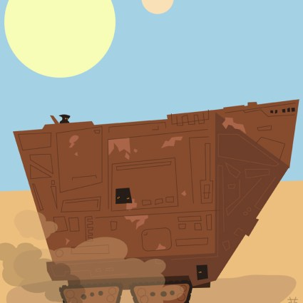 Véhicules Star Wars revus par Eyemelt
