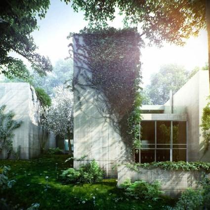 Ivy House, une maison verte située en plein Budapest