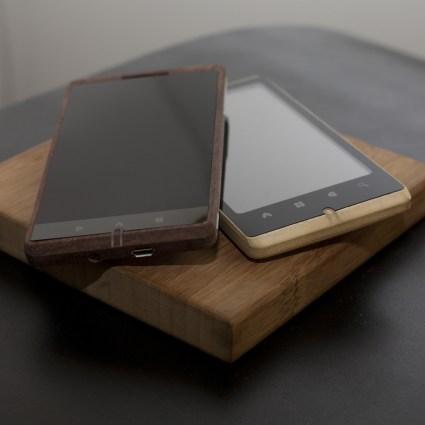 ADzero, un smartphone inédit en bambou