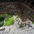 Vue de la tour Eiffel à Paris