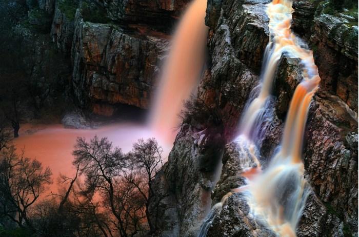 Cascada en Rosa © Francisco Mingorance