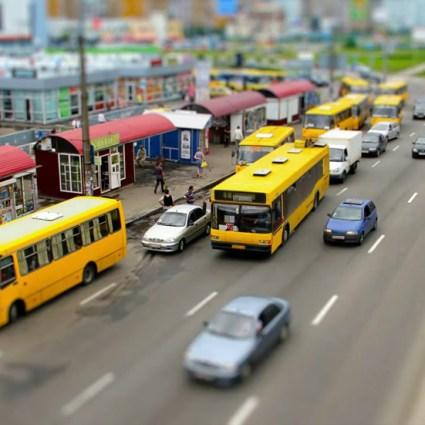 MiniLook Kiev – Tilt-shift