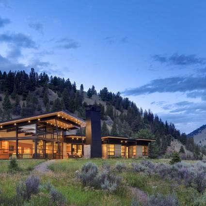 River Bank House – Montana