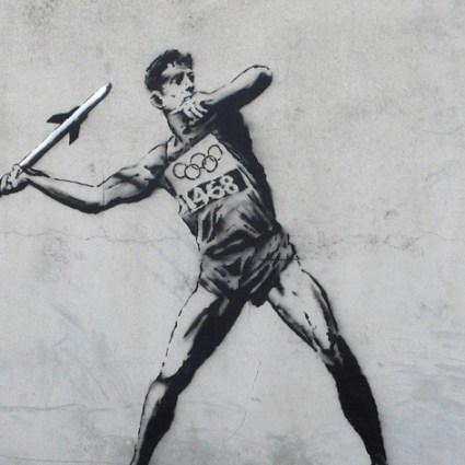 Banksy & les jeux olympiques