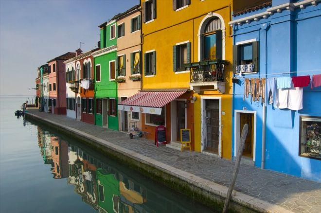 Burano, Italy by Jim Richardson