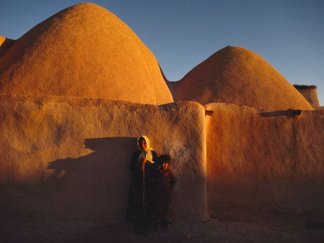 Beehive Huts, Syria by James Stanfield