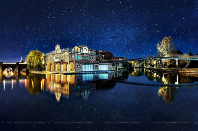 The city in the stars ©David Keochkerian