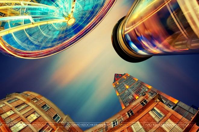 The city of colors ©David Keochkerian