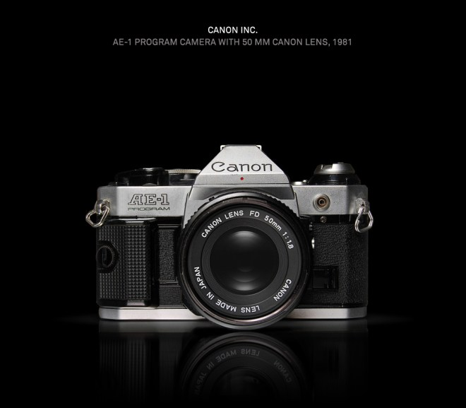 Canon AE-1 - Made In Japan by Antrepo