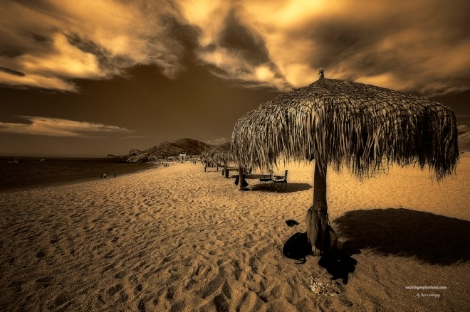 """The Hut at Chileno Bay in Mexico"" ©Rex Cadungog"