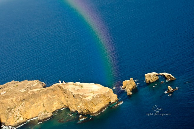 Anacapa Rainbow ©Cass Peterson Greene