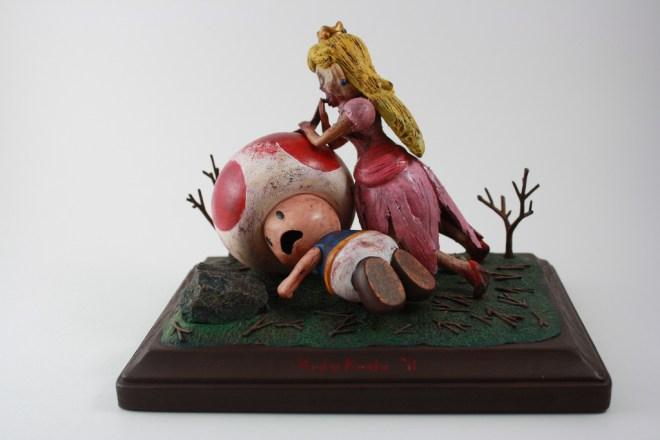 Custom Princess Peach Zombie