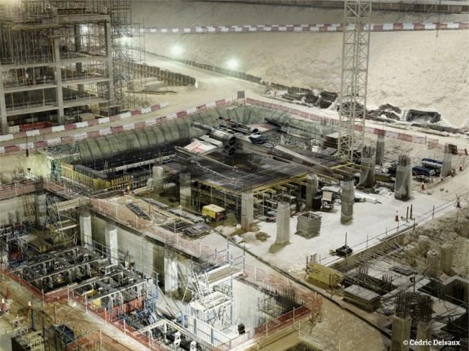 X-Wing Restoration, Dubai, 2009 - Dark Lens - Cédric Delsaux