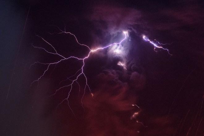 Sakurajima - Lightning Detail - Martin Rietze