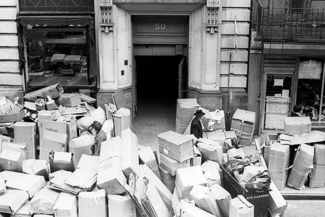 Garbage Strike 1975, W 28th Street - Leland Bobbé